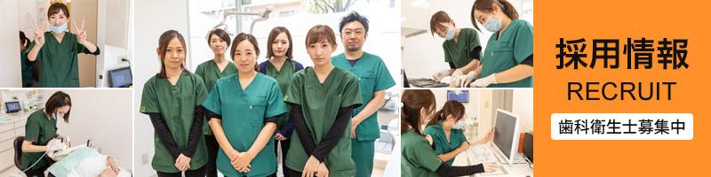 採用情報 歯科衛生士募集中